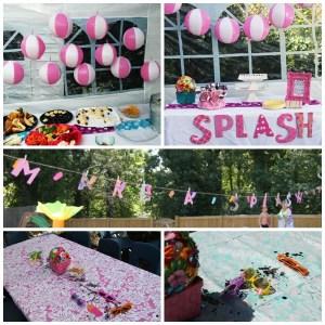 {Real Parties} Splish Splash 4th Birthday Bash
