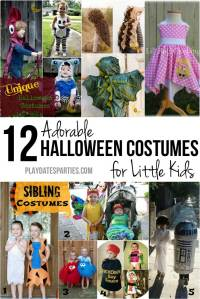 12 Adorable Halloween Costumes for Little Kids