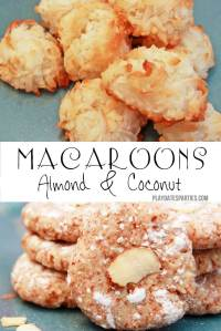 {12 Days of Christmas Cookies} Almond & Coconut Macaroons