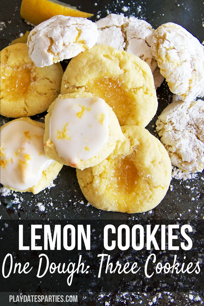 Love lemon? Take a look at this easy recipe for lemon clove cookies that can be made powdered, glazed, or with a lemon curd center. Each version has a different amount of lemon flavor to suit anybody's preference.