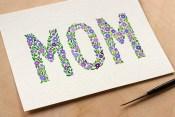 Adventures in Making Free Mothers Day Printable Floral Card
