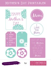 Craftaholics Anonymous Free Mothers Day Printables