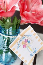 Kristen Duke Photography Thanks for Helping Me Bloom Mothers Day Printable