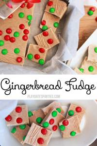 {12 Days of Holiday Candy} Gingerbread Fudge