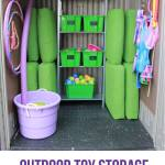 Wonderfully Crazy Outdoor Toy Storage (ORC Week 4)
