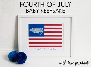 Project Nursery - Babys First Fourth