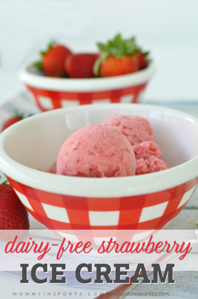 No-Churn Healthy Strawberry Ice Cream for Hot Summer Days
