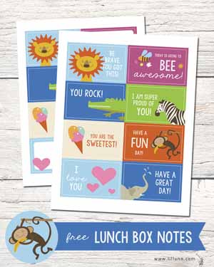 Lunch Box Notes - Lil Luna