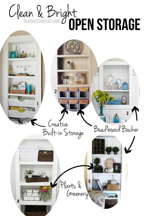 Find out key elements to creating functional and beautiful linen storage for your home, whether it's in a linen closet or open shelving