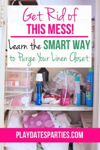 The Smart Way to Purge Your Linen Closet
