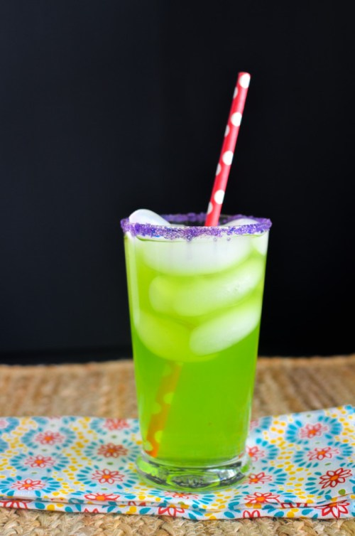 Mad Hater Punch: Start a new family tradition with a pitcher of one of these 10 Halloween mocktails while you join the kids for trick-or-treating.