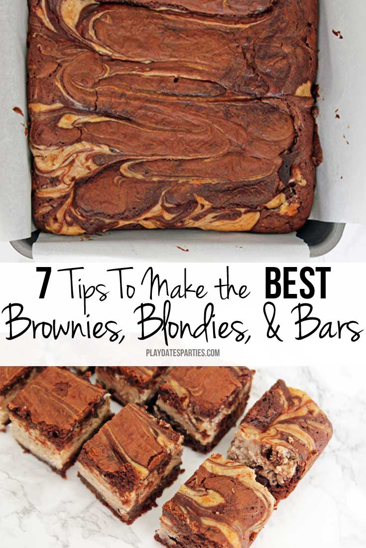 Avoid baking disasters and make the best brownies, blondies, and bars by following these seven important tips and tricks.