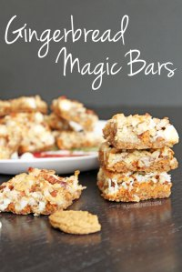 Gingerbread Magic Bars