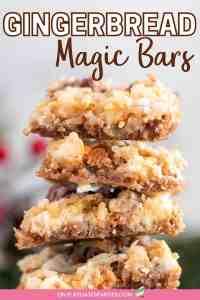 Gingerbread Magic Bars