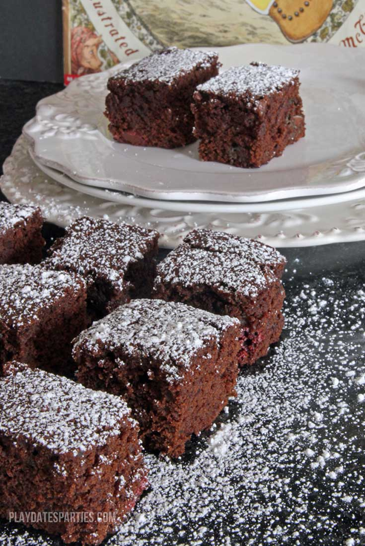 Dark chocolate gingerbread bars are a moist and flavorful cross between brownies and gingerbread cake. You don't want to miss out on this recipe!