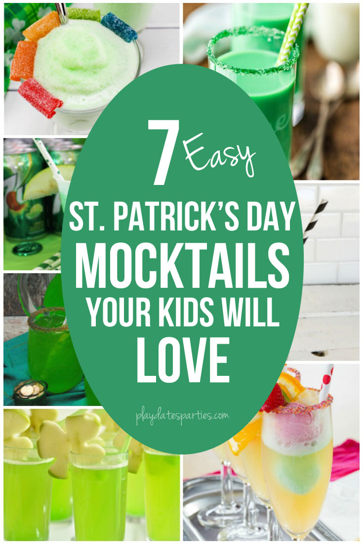 7 Easy St. Patrick's Day Mocktails Your Kids will Love