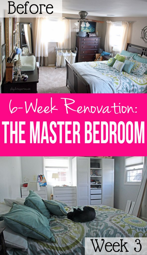 With just 6 weeks to renovate a master bedroom, the third week is when house renovations go wrong, and it's easy to get frustrated. But focusing on what's gone right is the best way to stay motivated.