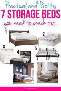 Practical and Pretty: 7 Storage Beds You Need to Check Out.