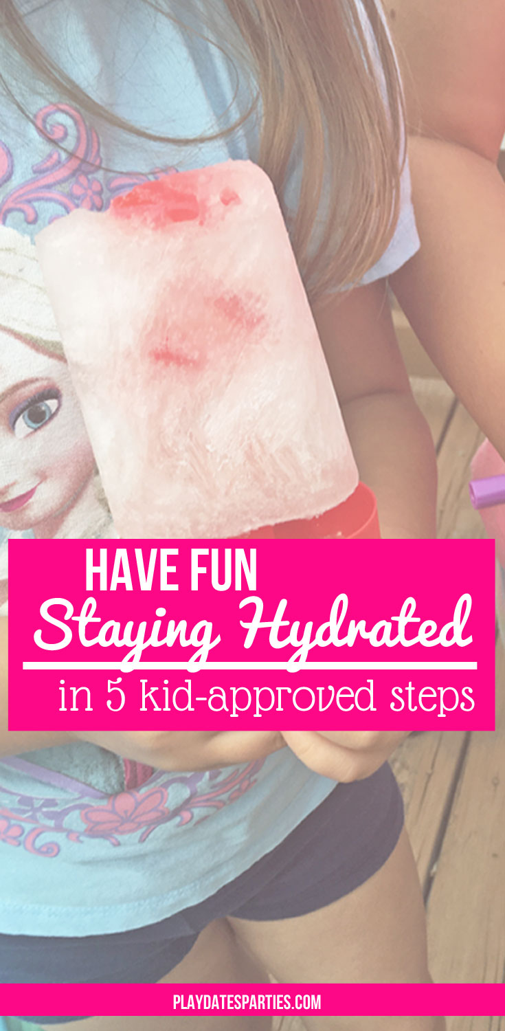 Do your kids refuse to drink water, even when they need it the most? These 5 tips will help you keep kids hydrated without feeling like you have to battle over every sip.