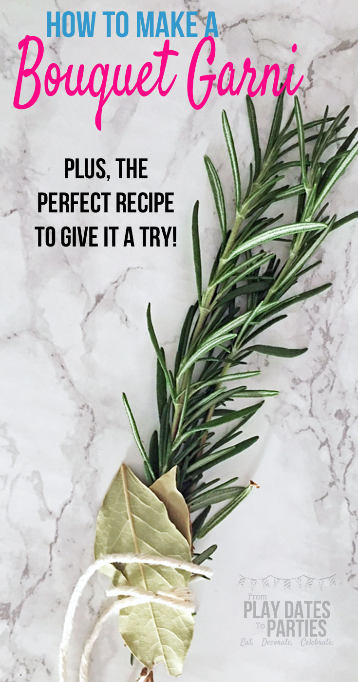 Don't be fooled by the fancy name. Find out how to make a bouquet garni to get all the delicious flavor of fresh herbs without ruining your sauces and stews with the unpleasant texture of limp and waterlogged leaves.