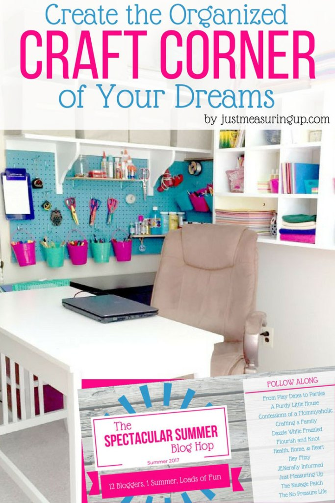 Create the Organized Craft Corner of Your Dreams