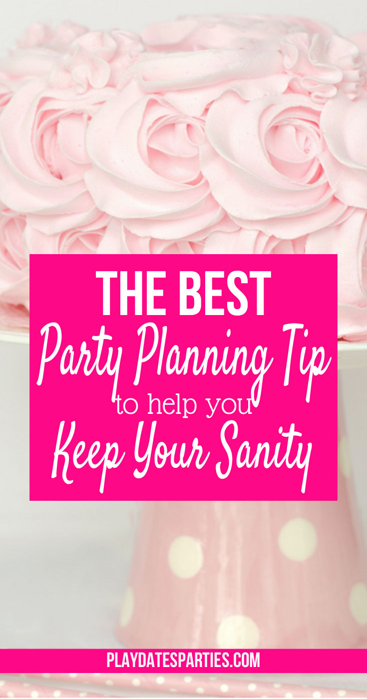 It's so easy to fall into the trap of trying to create the perfect looking birthday party only to end up overwhelmed with project after project. Instead, learn how to budget your party planning time AND throw amazing birthday parties too!
