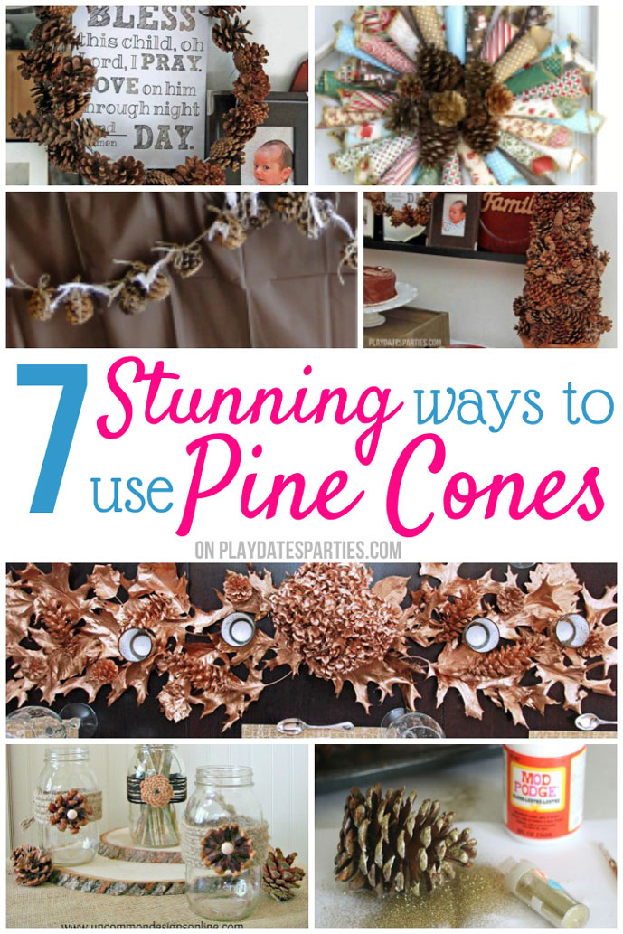 7 Stunning Ways to Decorate with Pine Cones this Year