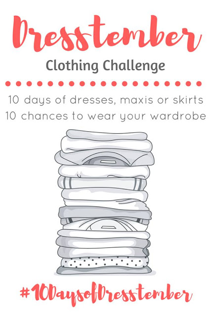 Dresstember Clothing Challenge from Wife Mommy Me.