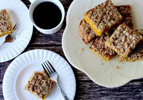 Pumpkin Pie Spiced Coffee Cakeby Delicious Little Bites