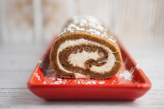 Pumpkin Roll With Cream Cheese Filling from Brooklyn Farm Girl.