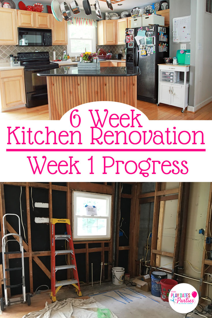 Last minute renovations often mean you don't have time to completely figure out your dream home kitchen design plan. But you may be more prepared than you think. Take a look at the week 1 progress of our kitchen renovation, and find out how we made all our major design decisions with just 3 days notice!