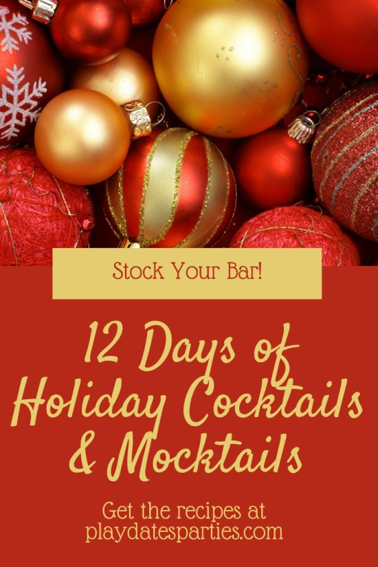 12 Days of Holiday Cocktails Recipes