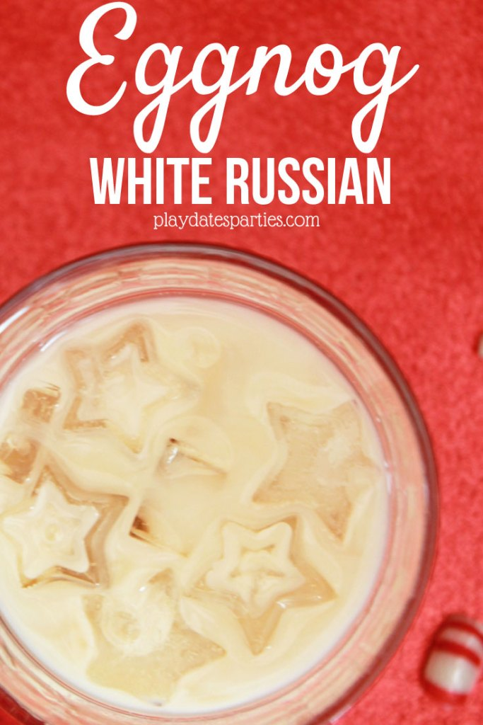 Brighten up your Christmas celebrations this year with this easy holiday cocktail: the eggnog white russian.