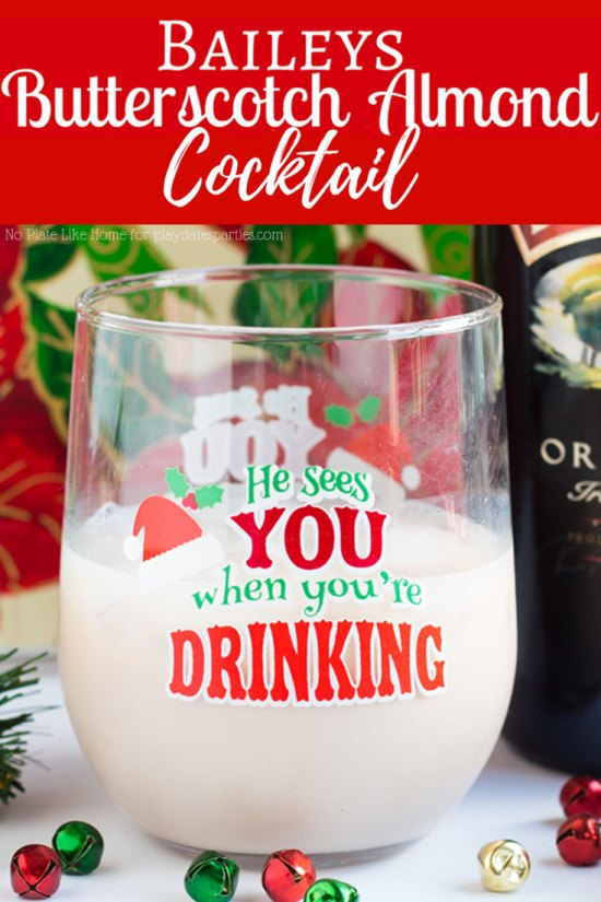 Bailey's Butterscotch Almond Cocktail | Easy Holiday Cocktails