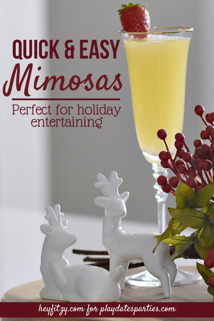 There's a reason everyone loves a quick & easy mimosas recipe for brunch. Get the classic recipe, as well as a #kid friendly version that will make everyone in the family happy.