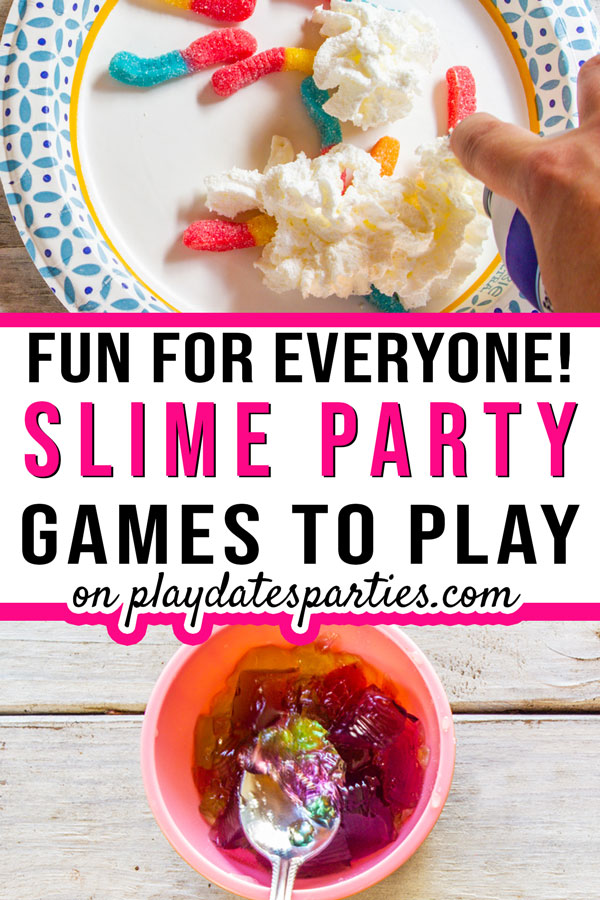 slime party games and