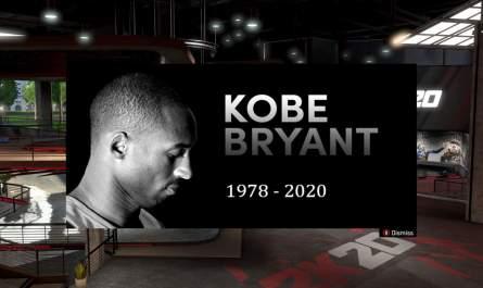 NBA 2K20 y los jugadores rinden homenaje a Kobe Bryant