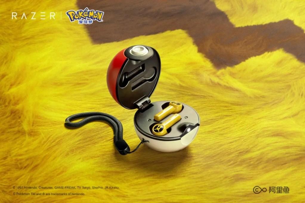 Razer lanza auriculares inalámbricos con temática de Pokémon