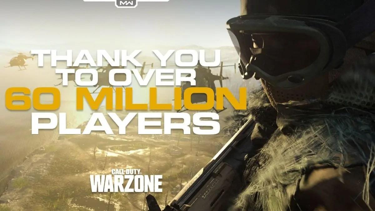 Call of Duty: Warzone ya cuenta con más de 60 millones de jugadores
