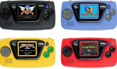Sega anuncia la microconsola Game Gear Micro