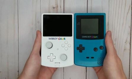 Modder ha creado una Wii portátil del tamaño de una GameBoy Color