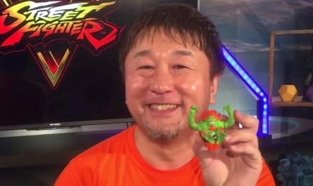 El productor ejecutivo de la serie Street Fighter, Yoshinori Ono, dejará Capcom este verano