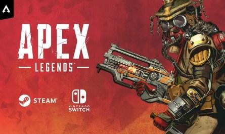 Apex Legends llegará a Steam el proximo mes; la versión de Switch se retrasa hasta el 2021