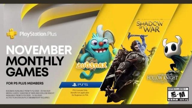 Estos son los juegos de PlayStation Plus de noviembre y como ahorrar mucho en tu próxima membresía