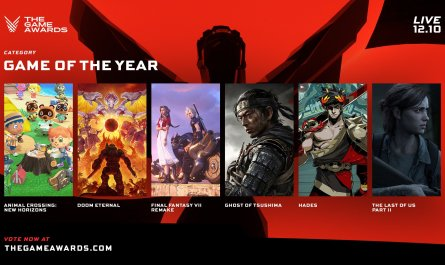 Estos son todos los nominados para The Game Awards 2020