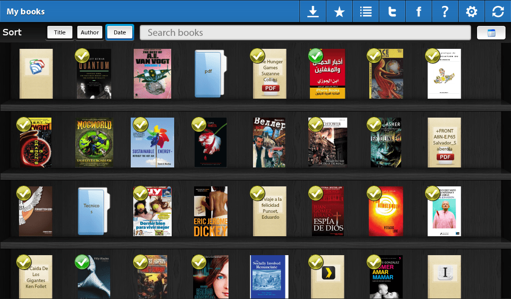 Playepub – Epub, Kindle and FB2 ebook reader for Blackberry 10 and