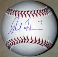 Rosell Herrera Signed Baseball