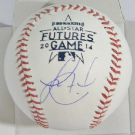 Jorge Alfaro Autographed 2014 Future's Game Baseball