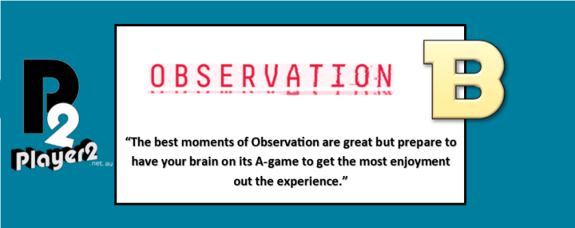 Observation - Sleuthing Through Space