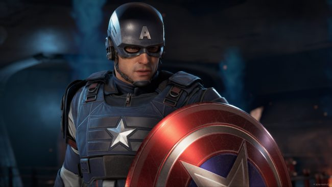 We Finally Get to See Nolan North, I Mean Captain America In Action